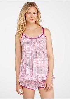 Oscar de la Renta Summer Nights Knit Pajama Set