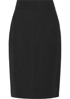 Oscar de la Renta Wool-blend pencil skirt