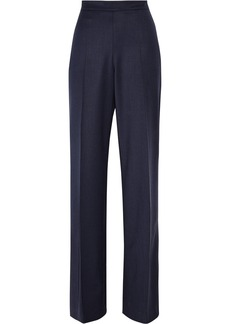 Oscar de la Renta Wool-blend straight-leg pants