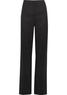 Oscar de la Renta Wool-blend wide-leg pants