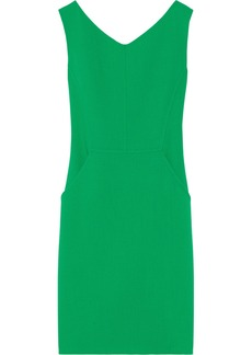 Oscar de la Renta Wool-crepe dress