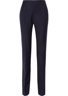 Oscar de la Renta Wool-twill straight-leg pants