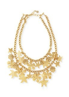 Seashell Golden Chain Necklace   Seashell Golden Chain Necklace