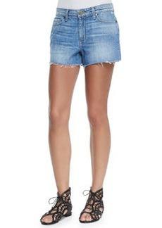 Callie Distressed Denim Shorts, Tomlin   Callie Distressed Denim Shorts, Tomlin