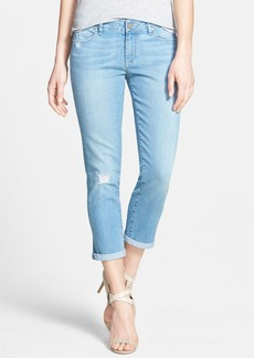 Paige Denim 'Abbott Kinney' Distressed Crop Skinny Jeans (Runaway Destructed)