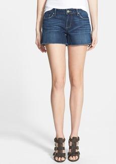 Paige Denim 'Bobbi' Frayed Denim Cutoff Shorts (Indiana)