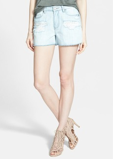 Paige Denim 'Callie' Cutoff Denim Shorts (Sawyer Destructed)