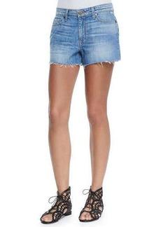 Paige Denim Callie Distressed Denim Shorts, Tomlin