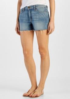Paige Denim 'Callie' High Rise Cutoff Denim Shorts (Tomlin)