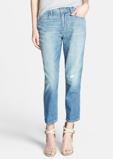 Paige Denim 'Callie' High Rise Distressed Boyfriend Jeans (Sunbaked)
