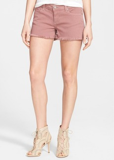 Paige Denim 'Catalina' Cutoff Denim Shorts (Antique Rose)