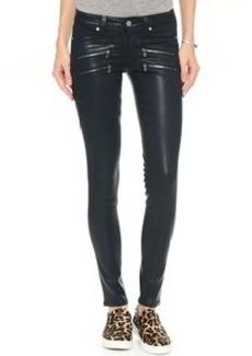 Paige Denim Edgemont Coated Skinny Jeans