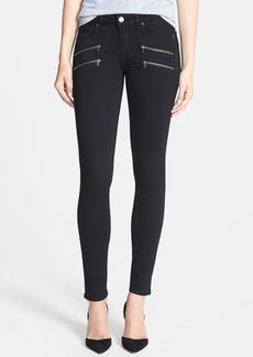 Paige Denim 'Transcend - Edgemont' Ultra Skinny Jeans (Black Shadow)