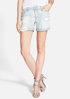 Paige Denim 'Grant' Denim Shorts (Sawyer Destructed)