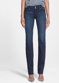 Paige Denim 'Transcend - Hidden Hills' High Rise Straight Leg Jeans (Midlake)