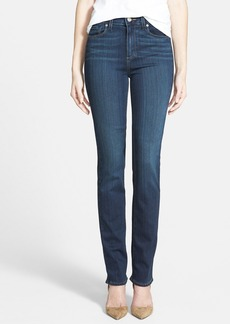 Paige Denim 'Transcend - Hoxton' High Rise Straight Leg Jeans (Nottingham Blue)