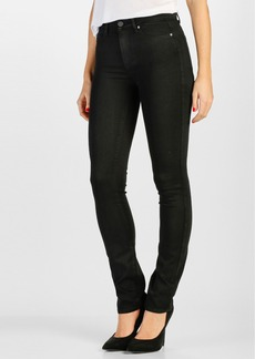 Paige Denim 'Transcend - Hoxton' Straight Leg Jeans (Black Shadow)