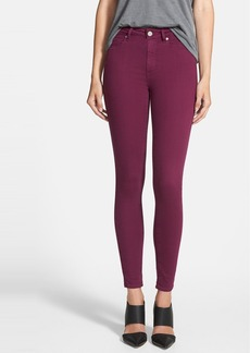 Paige Denim 'Hoxton' Ultra Skinny Jeans (Passion Plum)