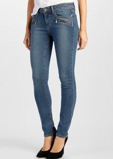 Paige Denim 'Transcend - Indio' Zip Skinny Jeans (Brett No Whiskers)