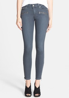 Paige Denim 'Jane' Zip Detail Ultra Skinny Jeans (Evie)