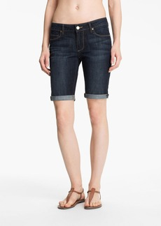 Paige Denim 'Jax' Stretch Denim Bermuda Shorts (Dean Wash)