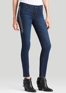 Paige Denim Jeans - Embellished Verdugo Ultra Skinny in Lange Dart