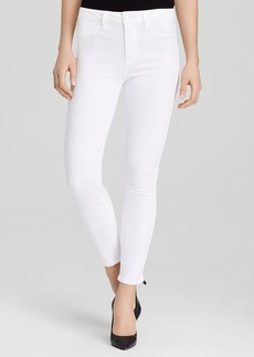 Paige Denim Jeans - Hoxton High Rise Ankle in Ultra White