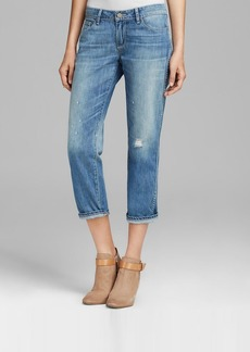 Paige Denim Jeans - Jimmy Jimmy Crop in Sunbaked