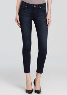 Paige Denim Jeans - Transcend Verdugo Crop in Midlake