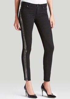 Paige Denim Jeans - Verdugo Ultra Skinny in Black and Pewter
