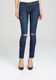 Paige Denim Jeans - Verdugo Ultra Skinny in Lange Destructed