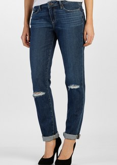 Paige Denim 'Jimmy Jimmy' Boyfriend Skinny Jeans (Quinnley Destructed)