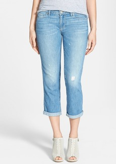 Paige Denim 'Jimmy Jimmy' Crop Jeans (Sunbaked)