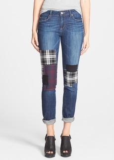 Paige Denim 'Jimmy Jimmy' Patch Detail Skinny Boyfriend Jeans (Camden)