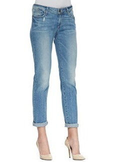 Paige Denim Jimmy Jimmy Relaxed Cropped Jeans, Whitely