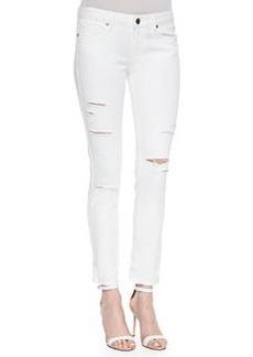 Paige Denim Jimmy Jimmy Skinny Distressed Jeans
