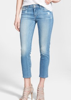 Paige Denim 'Kylie' Crop Skinny Jeans (Whitley)