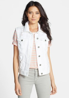 Paige Denim 'Madison' Destroyed Denim Vest