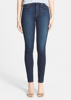 Paige Denim 'Margot' High Rise Ultra Skinny Stretch Jeans (Armstrong)