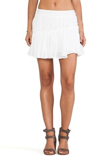 Paige Denim Mari Skirt in White