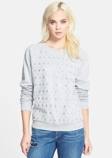Paige Denim 'Pauline' Embellished Sweatshirt