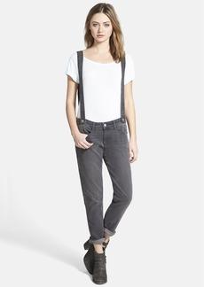 Paige Denim 'Phillipa' Boyfriend Jeans with Suspenders (Rudy)