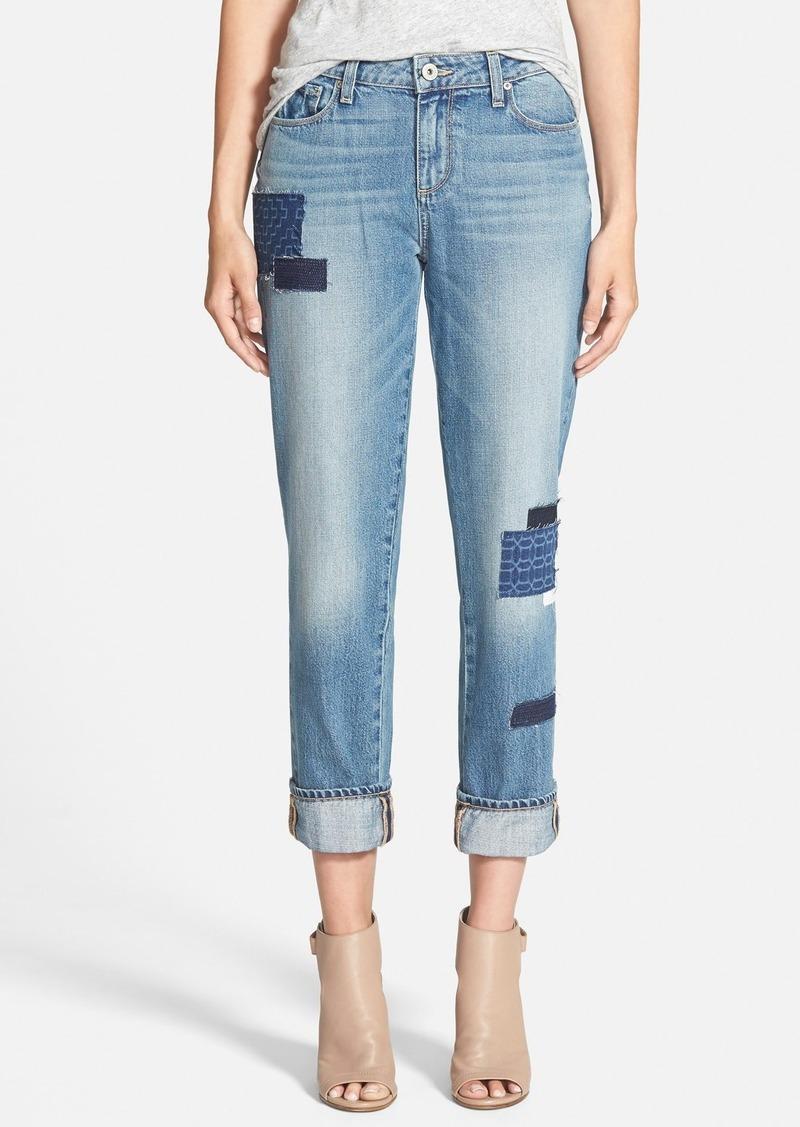 Paige Denim Paige Denim u0026#39;Porteru0026#39; Boyfriend Jeans (Bethany Patch)   Denim - Shop It To Me