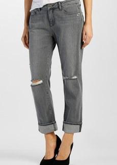 Paige Denim 'Porter' Boyfriend Jeans (City Grey Destructed)