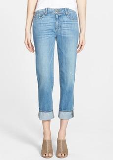 Paige Denim 'Porter' Mid Rise Straight Leg Boyfriend Jeans (Tomlin)