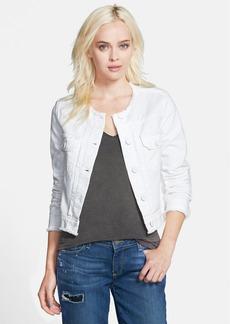 Paige Denim 'Shannon' Crop Denim Jacket