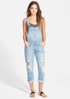 Paige Denim 'Sierra' Cuffed Overalls (Serena Destructed)