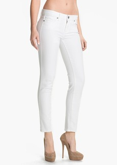 Paige Denim 'Skyline' Ankle Peg Skinny Jeans (Optic White)