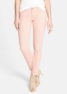 Paige Denim 'Skyline' Ankle Skinny Jeans (Ballet Pink)