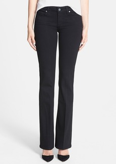 Paige Denim 'Skyline' Bootcut Jeans (Black Shadow)